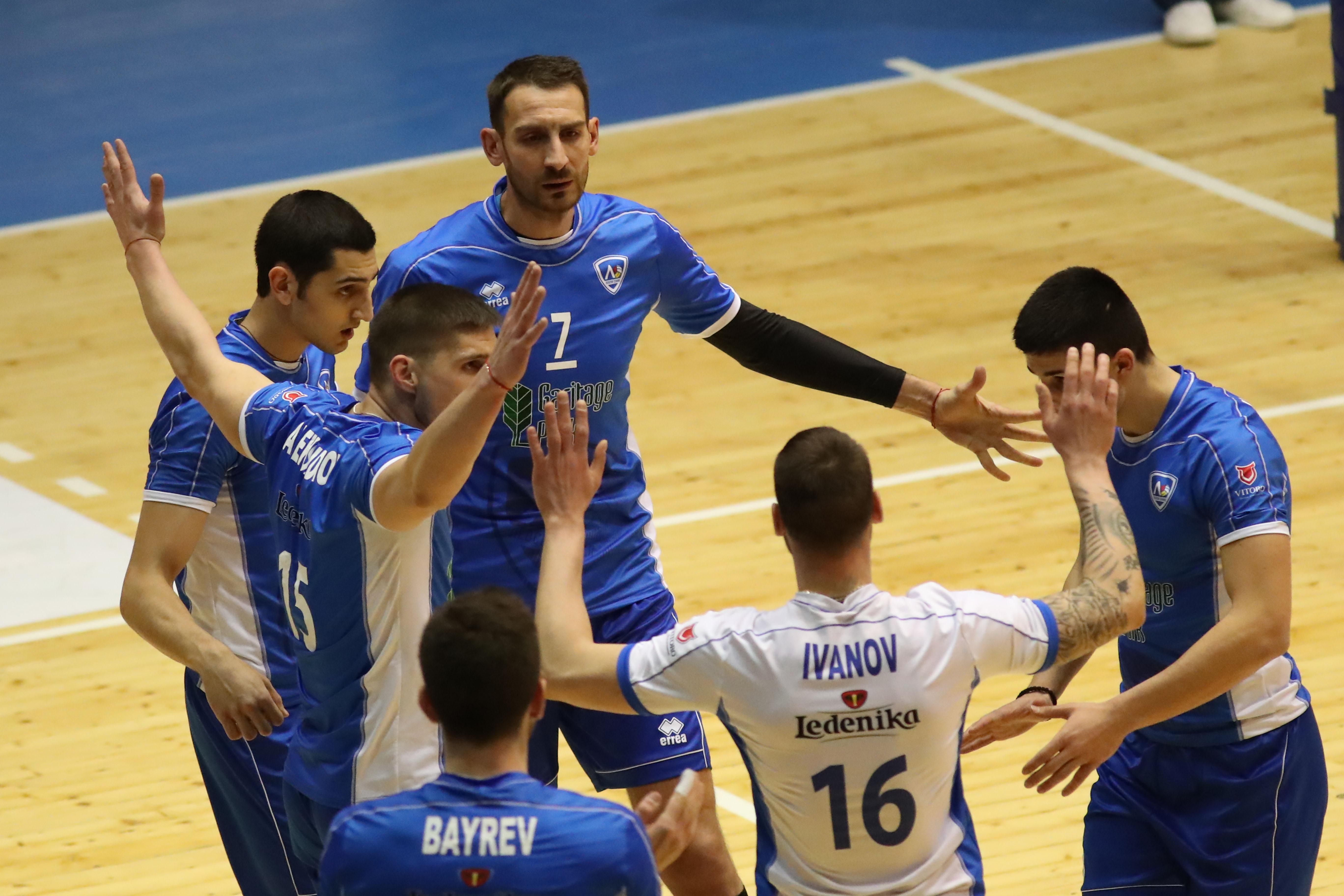 ВК Левски - Абиант Ликургус - 1/16 финал за Купата на CEV