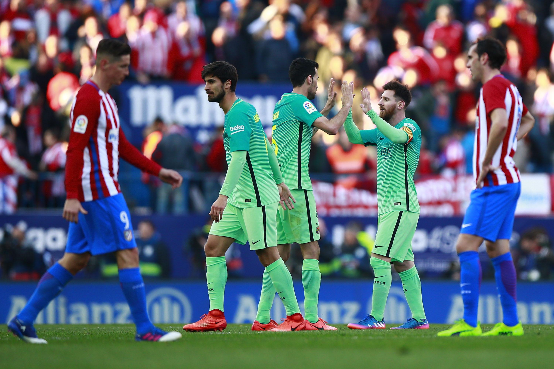Атлетико Мадрид - Барселона - 1:2 (Примера)