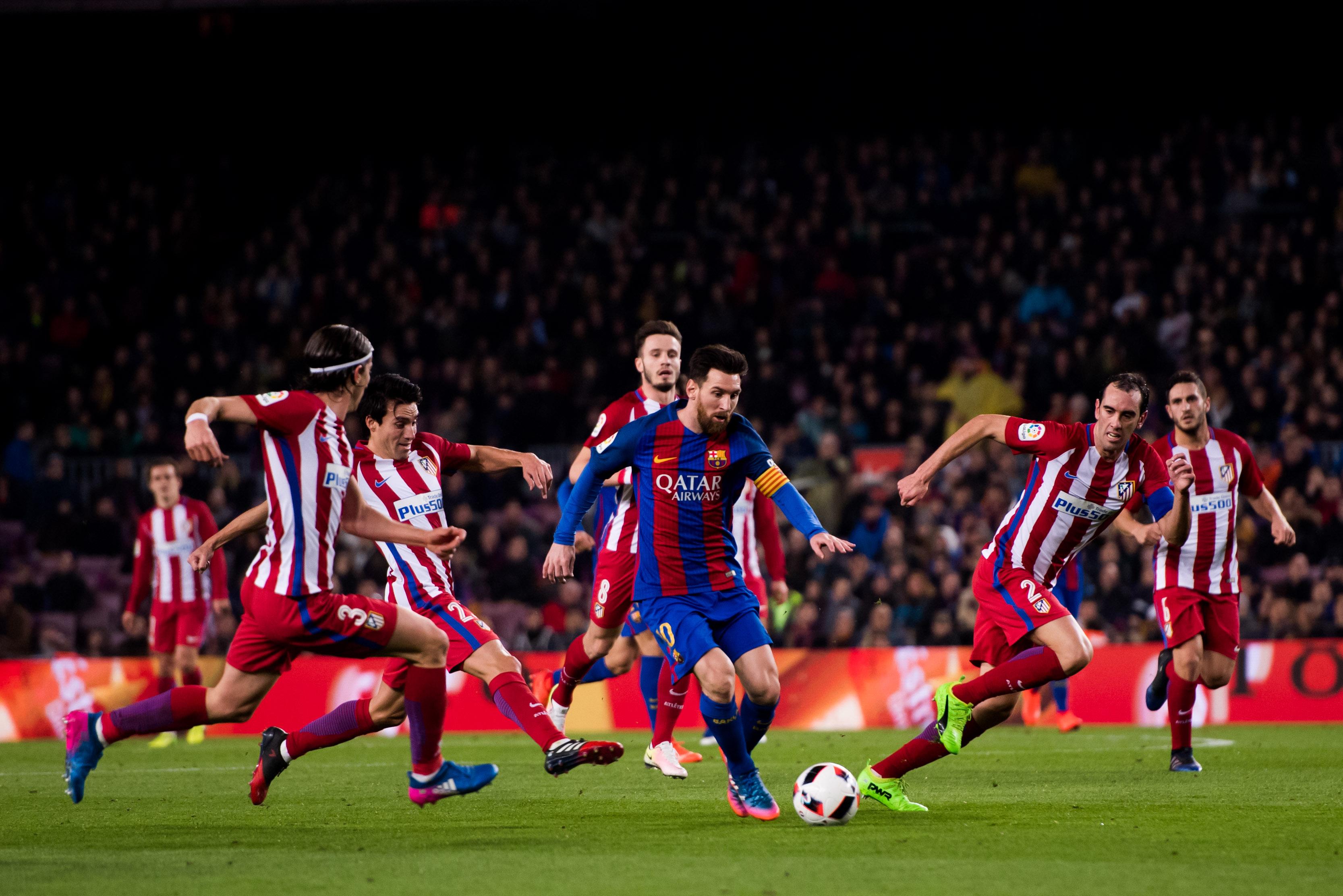 Барселона - Атлетико Мадрид - 1:1 (Купа на краля)