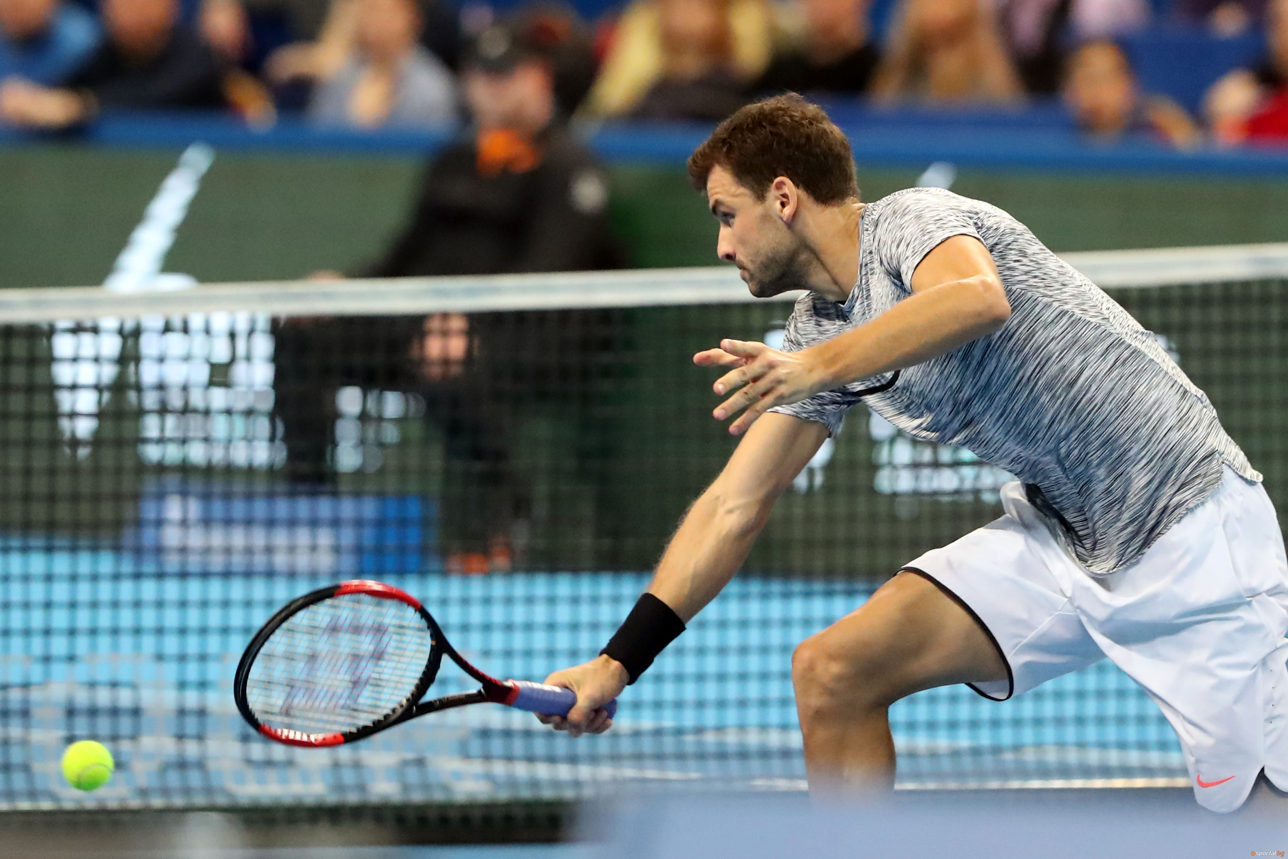 Григор Димитров срещу Давид Гофен във финалът на Garanti Koza Sofia Open