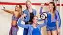 Волейболистки станаха модели във фитнеса