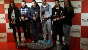 Спортни звезди се състезаваха на картинг писта благотворително