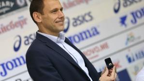 Наградиха Мирослав Живков за треньор на месец април