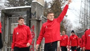 Пресконференция и тренировка на ЦСКА преди втория лагер на отбора