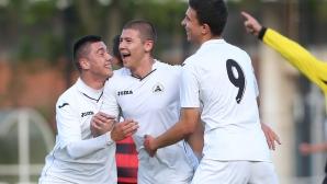 Славия победи Локо (ГО) с 6:0 и са шампиони в елитната юношеска група до 19