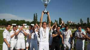 Славия шампион на елитната юношеска група до 19 години