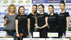Ансанбълът ни по худ. гимнастика са отбор на месеца в анкетата на Пресклуб БГ
