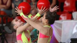 Благотворителен детски турнир по художествена гимнастика