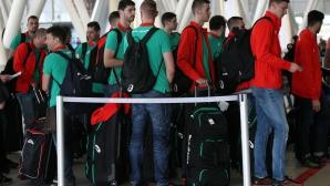 Волейнационалите заминаха за Русия