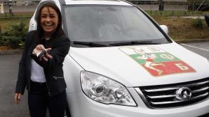 Елица Янкова получи автомобил за бронзовия медал от Рио 2016