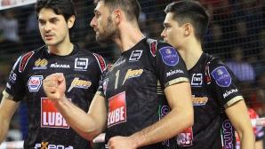 Супер Цецо Соколов с 25 точки и MVP! Лубе с пълен обрат срещу Перуджа