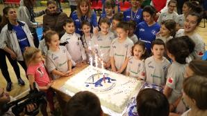 Волейболната школа на Владо Николов стана на една година