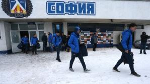 Футболистите на Левски заминаха на лагер в Кипър