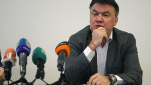 Пресконференция на изпълнителния директор на БФС - Борислав Михайлов
