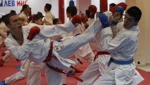 Открита тренировка на националите по карате