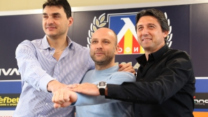 Пресконференция на Даниел Боримиров, Тити Папазов и Владо Николов