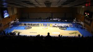 Представиха отборите на Левски по футбол, баскетбол и волейбол