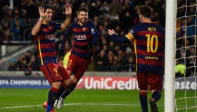 Гpандиозна футболна лекция на Барса срещу Рома