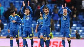 """Футболистите на Селта ликуват на """"Бернабеу"""""""