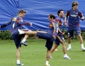 Резервите на Испания победиха титулярите с 2:0