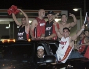 Маями полудя, титлата пристигна в града