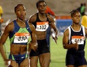 Шерън Симпсън с най-добро време за сезона в спринта на 100 метра