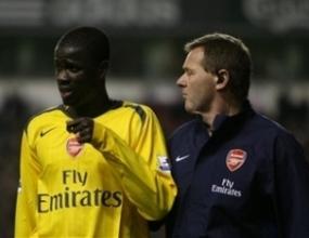 Ману Ебуе се завръща в игра срещу Юнайтед