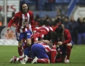 Атлетико (Мадрид) изтръгна трите точки от Осасуна