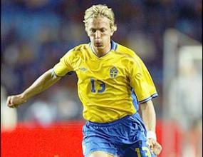 Шведският защитник Ерик Едман пропуска Евро'2008 поради тежка контузия