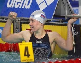 Зуева постави европейски рекорд на 50 метра гръб