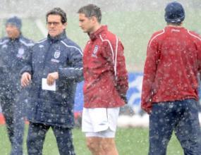Лампард и Рууни готови за мача на Англия
