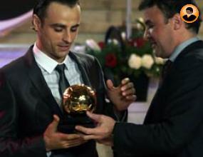 Бербатов разсмя всички на Футболист на годината