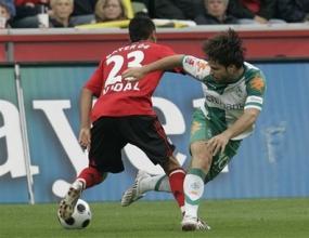 Вердер в Шампионската лига след 1:0 над Байер