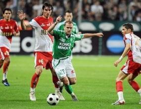 Сент Етиен разгроми Монако и се класира за Купата на УЕФА