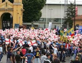 """1000 тифози на Интер нахлуха на """"Енио Тардини"""""""