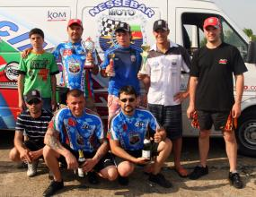 Три купи спечелиха състезателите на Несебър Мото