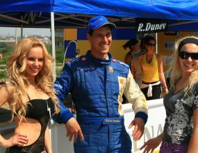 Румен Дунев първи на пистата Русе 2008