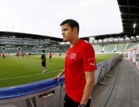 Плеймейкърът Транкило Барнета отново тренира с отбора на Швейцария