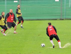 Блашчиковски готов за първия мач с Германия