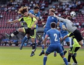 Грасхопър разби мечтите на Черноморец за УЕФА