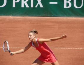 Сесил Каратанчева на финал в Австрия