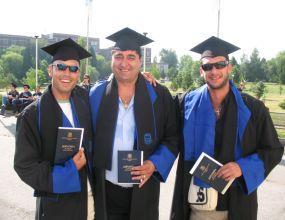Борислав Кьосев се дипломира от НСА