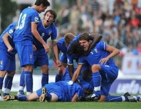 Италия и Чехия се класираха за полуфиналите на ЕП за юноши