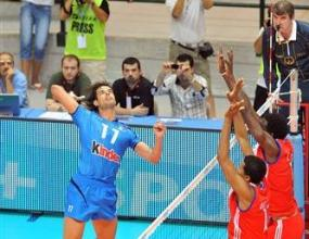 Италия победи Куба с 3:1, Златанов най-резултатен