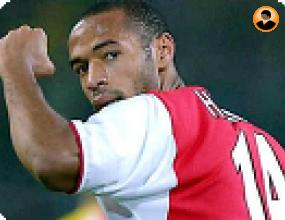 Анри беше избран за най-добур играч в истарията на Арсенал