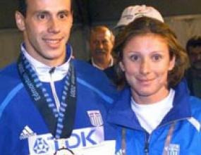 Екатерини Тану в състава на Гърция за Олимпиадата