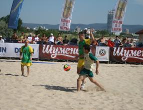 Предстои горещ уикенд от Държавното първенство по плажен футбол