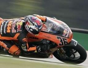 250cc: Мика Калио с първо време на изсъхваща писта
