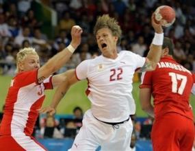 Европейският шампион Дания и Исландия направиха 32:32