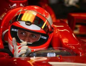 """Шумахер пропуска изпитанията на Ферари на """"Монца"""""""